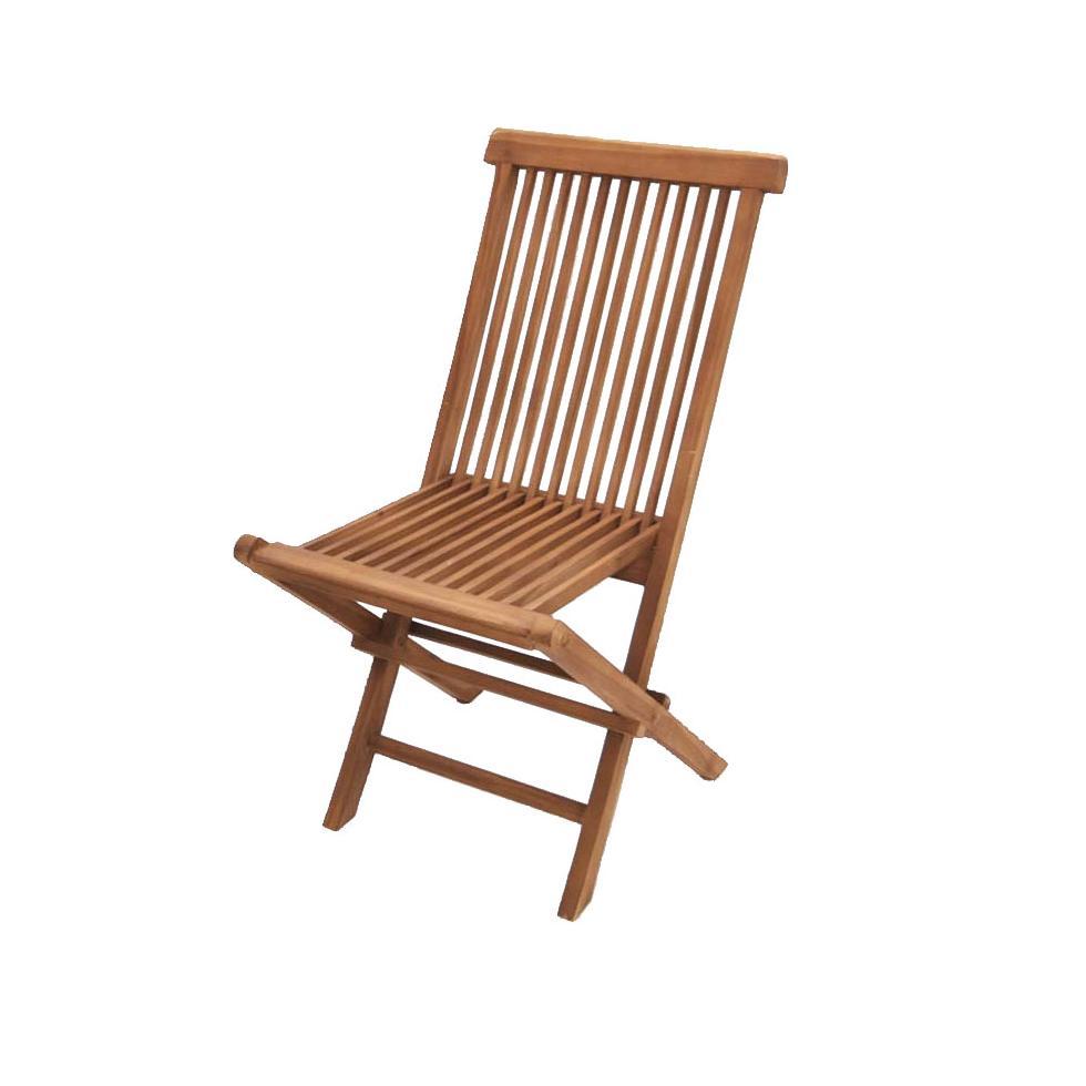klappstuhl gartenstuhl modena 90x62x45 cm teak ebay. Black Bedroom Furniture Sets. Home Design Ideas