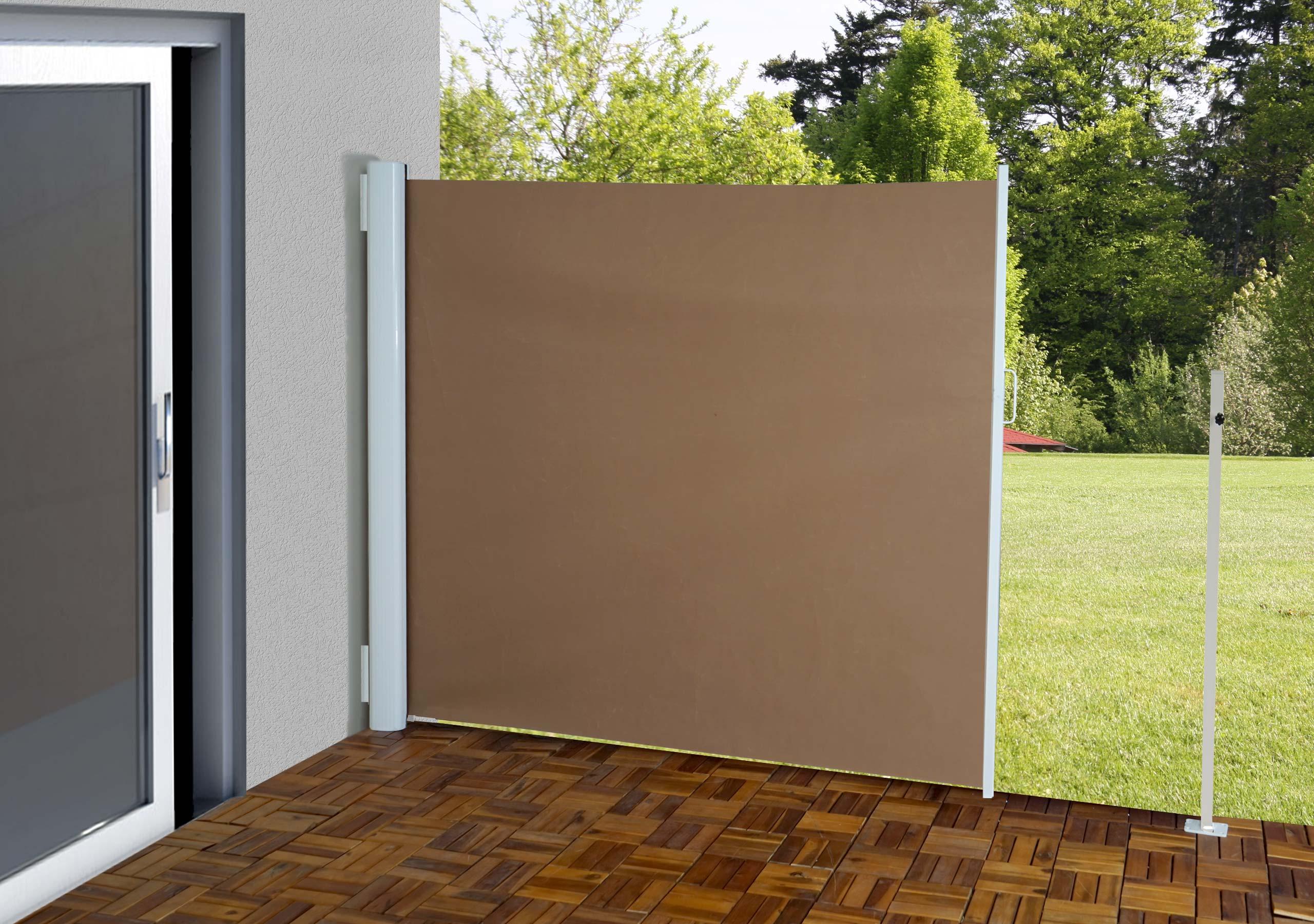 Paravento laterale per esterni poliestere telaio in - Paravento per esterno ...