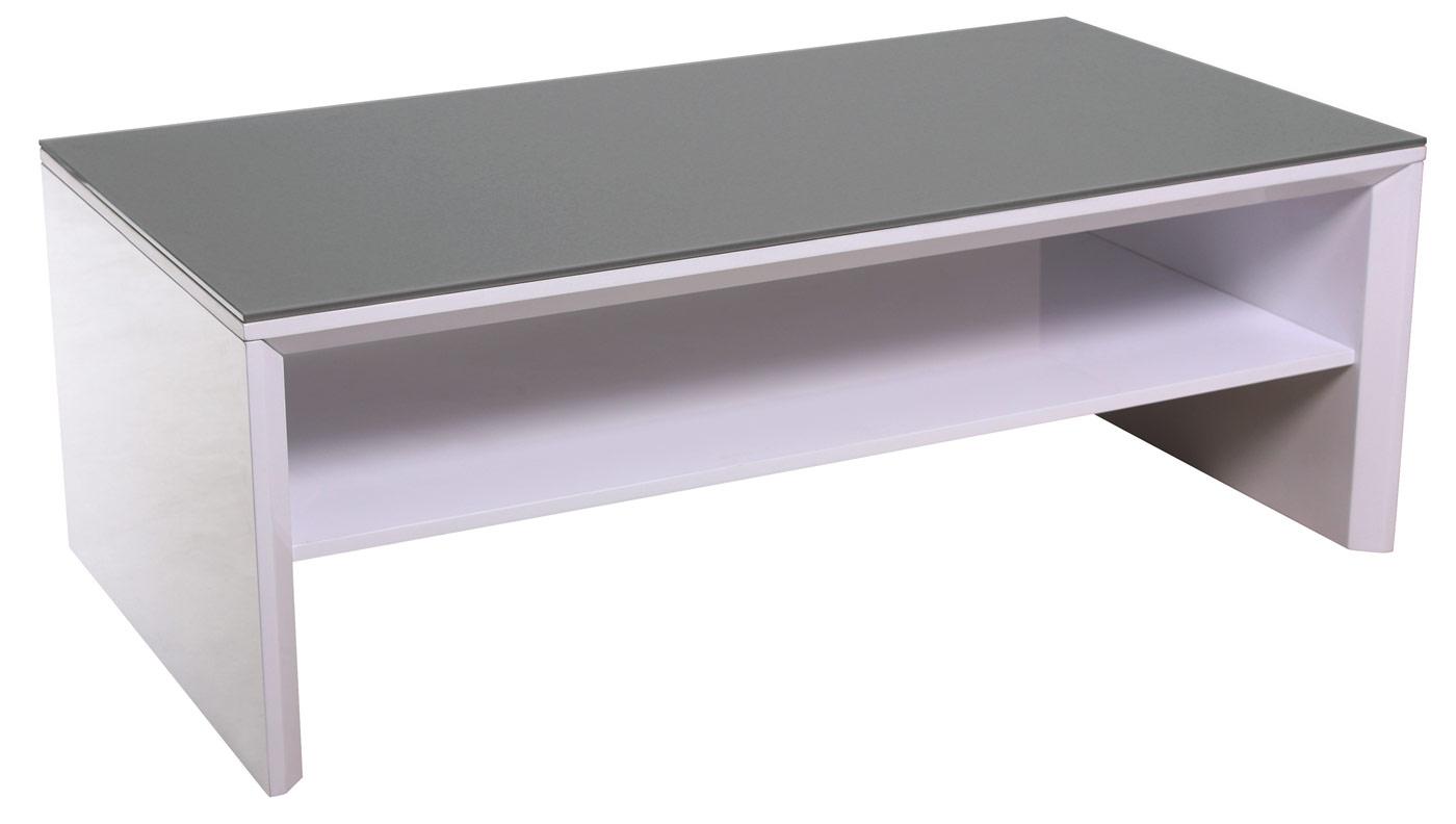 Couchtisch fg2 wohnzimmertisch fernsehtisch tv rack mit for Grauer couchtisch