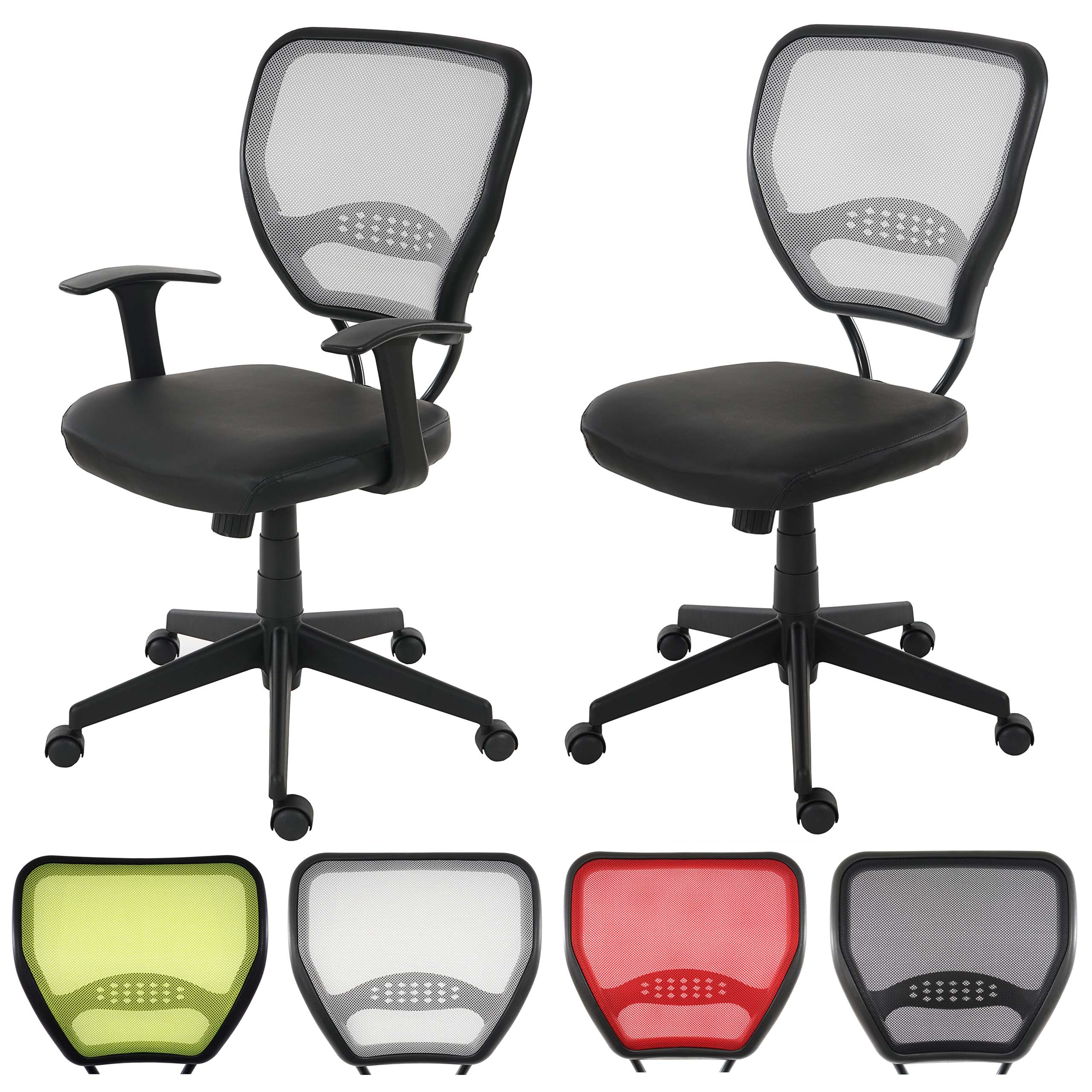 Profi-Bürostuhl Seattle, Chefsessel Drehstuhl, 150kg belastbar, Textil ~ Variantenangebot