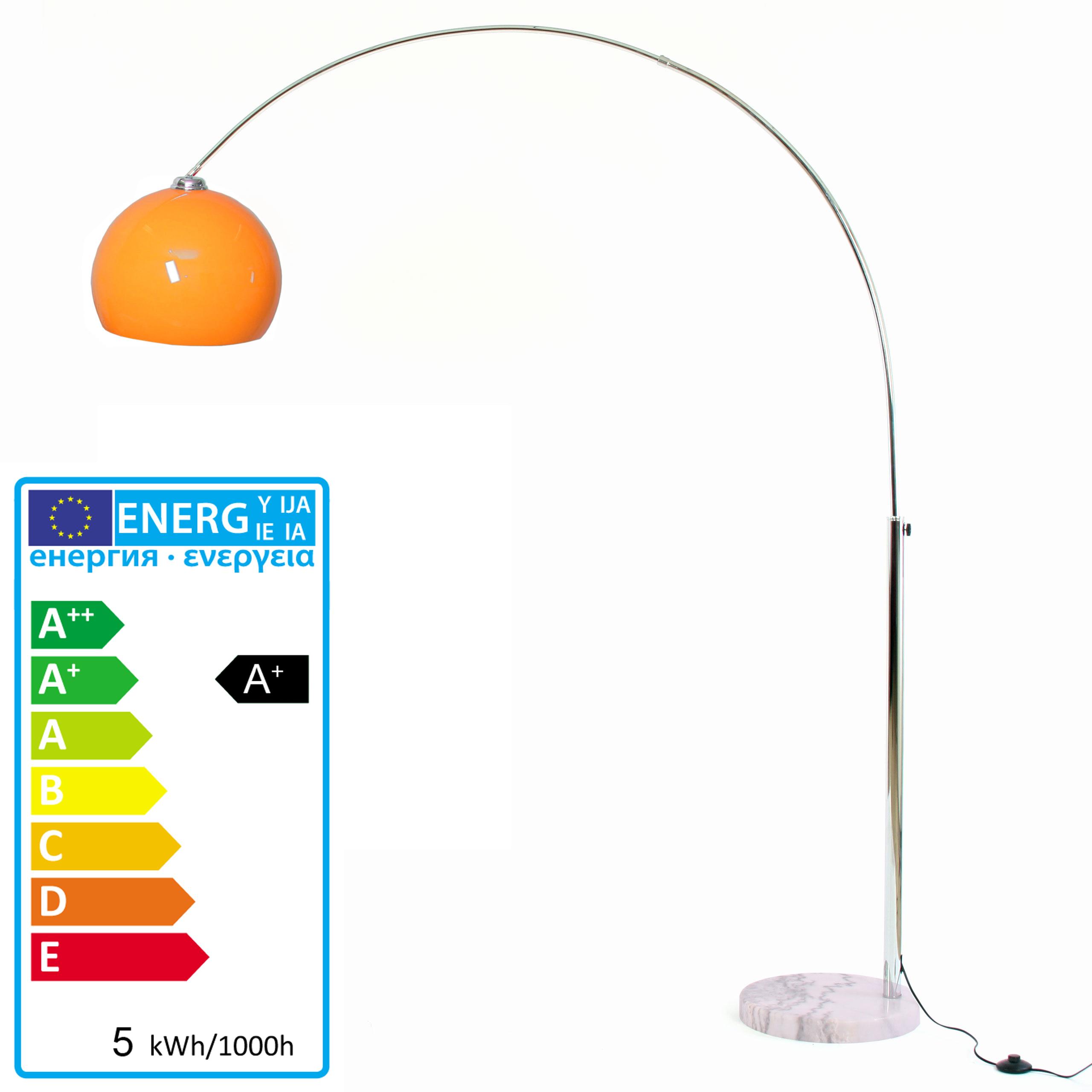 Led design lampada ad arco cromo lounge deal ii 5w 180cm d - Lampada led design ...