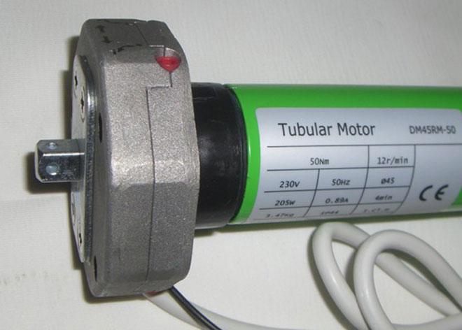 Motor elektrische Sonnenstoren 4x3m
