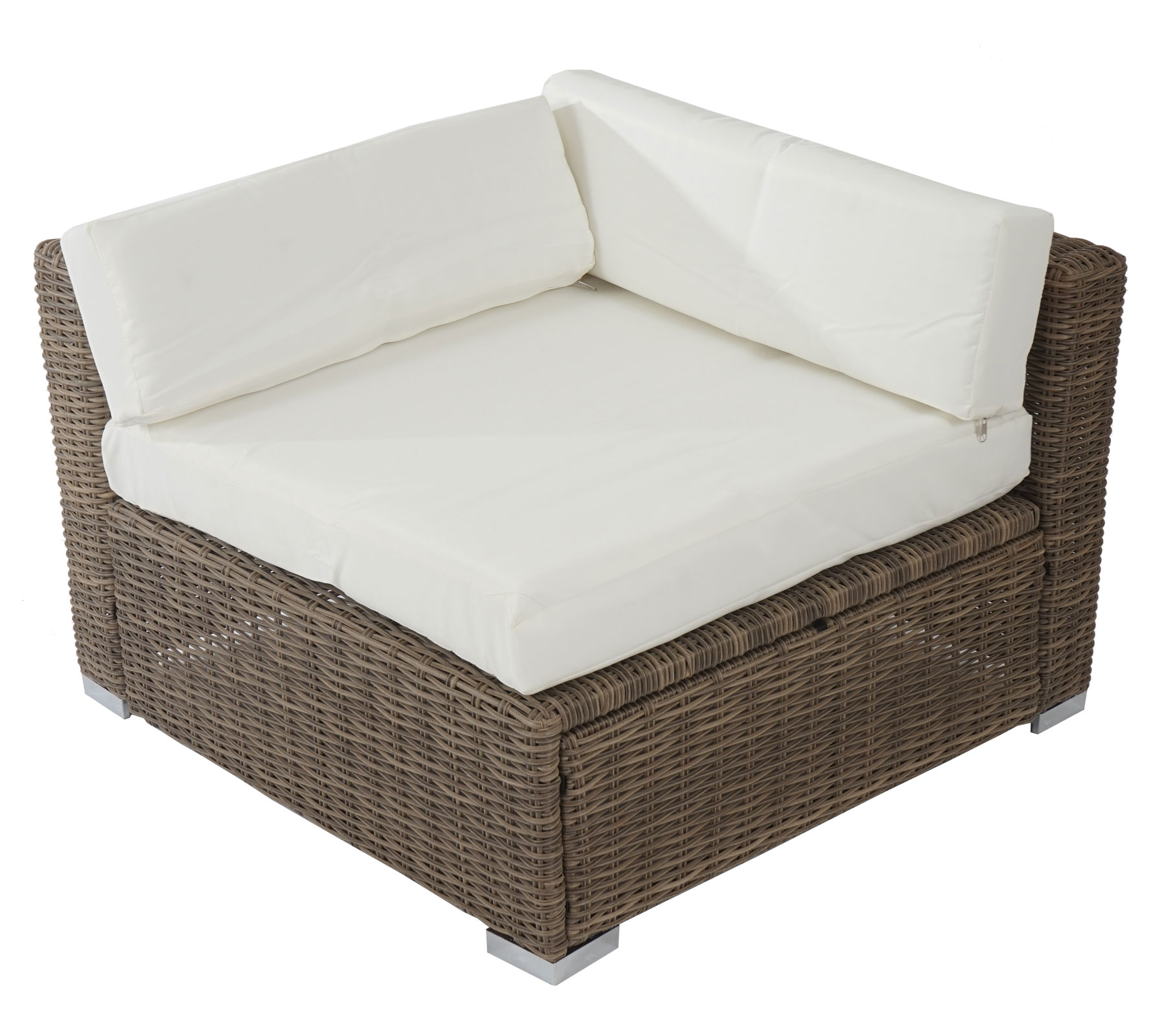 poly rattan sofa garnitur sues lounge set gartengarnitur sitzgruppe gartenm bel ebay. Black Bedroom Furniture Sets. Home Design Ideas