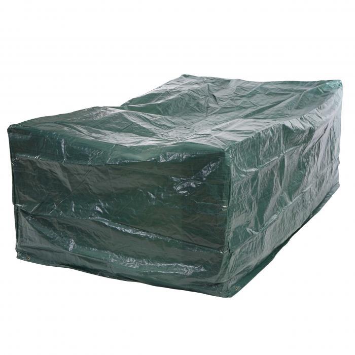 Abdeckplane Abdeckhaube Schutzplane Schutzhülle Regenschutz Für Tische,  240x140x90cm ~ PE