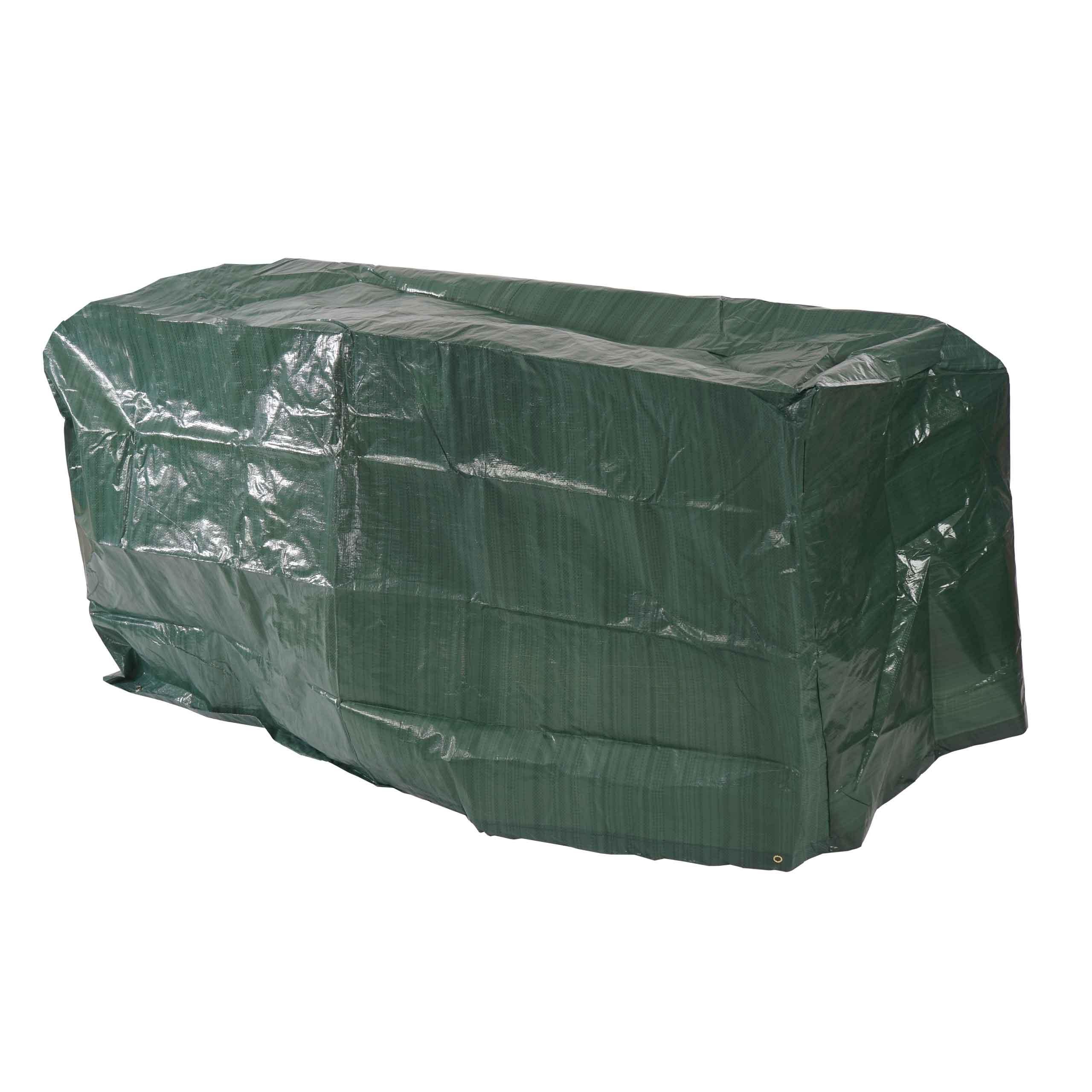 Abdeckplane Abdeckhaube Schutzplane Schutzhülle Regenschutz Für Gartenbänke 180x70x89cm