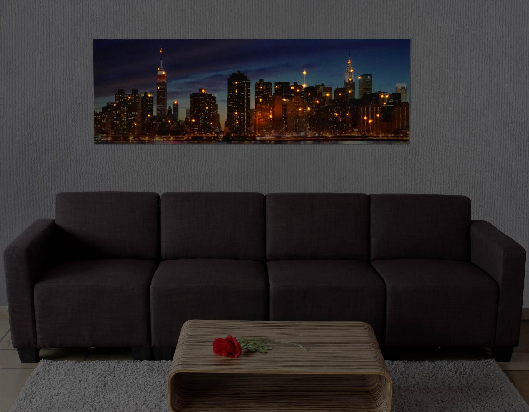 led bild mit beleuchtung leinwandbild leuchtbild motivbild timer flackernd ebay. Black Bedroom Furniture Sets. Home Design Ideas