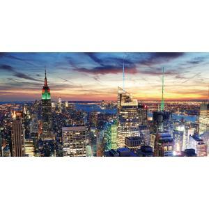 led bild leinwandbild leuchtbild wandbild timer 100x50cm new york flackernd. Black Bedroom Furniture Sets. Home Design Ideas
