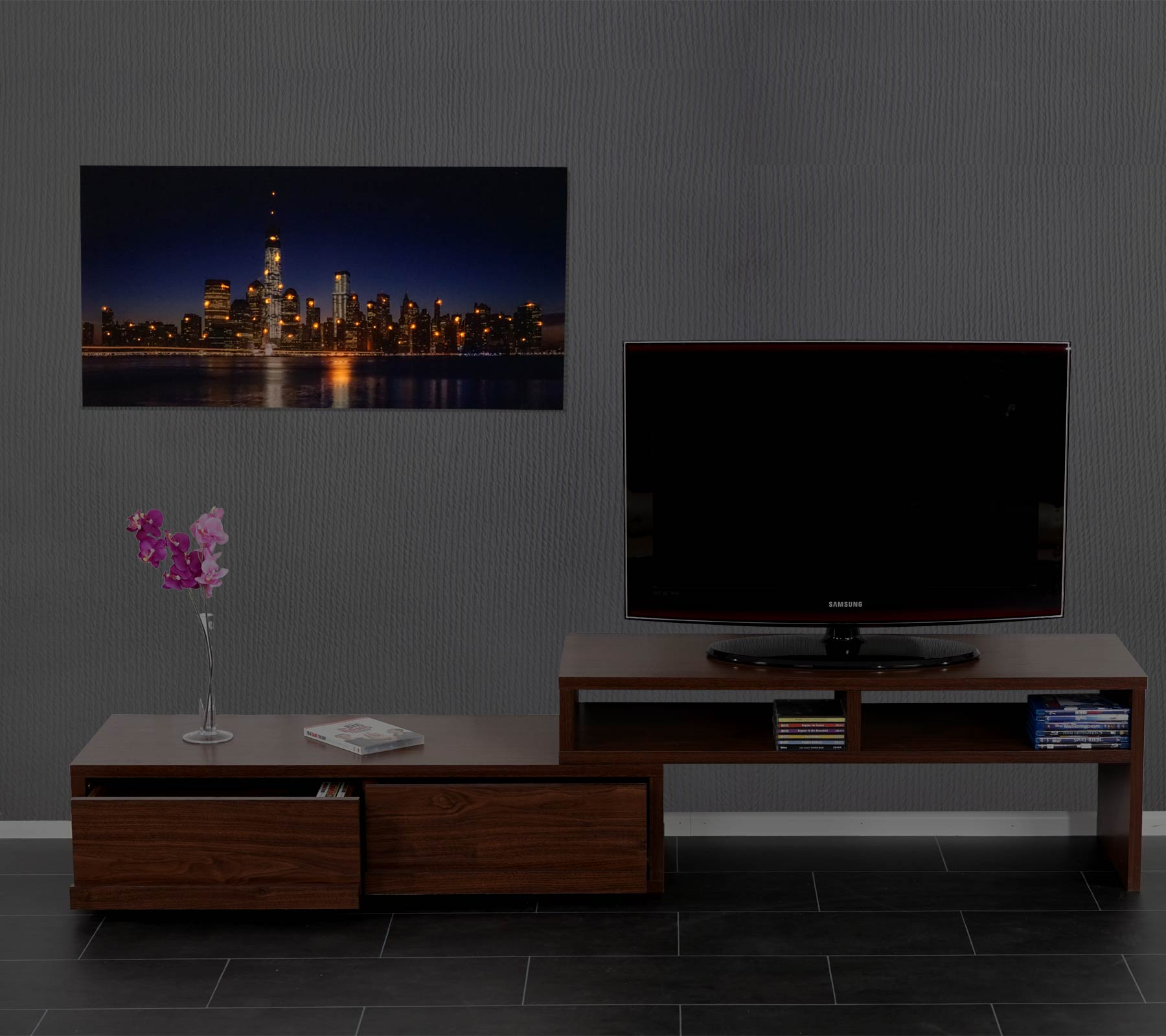 LED-Bild 100x50cm One World Trade Center