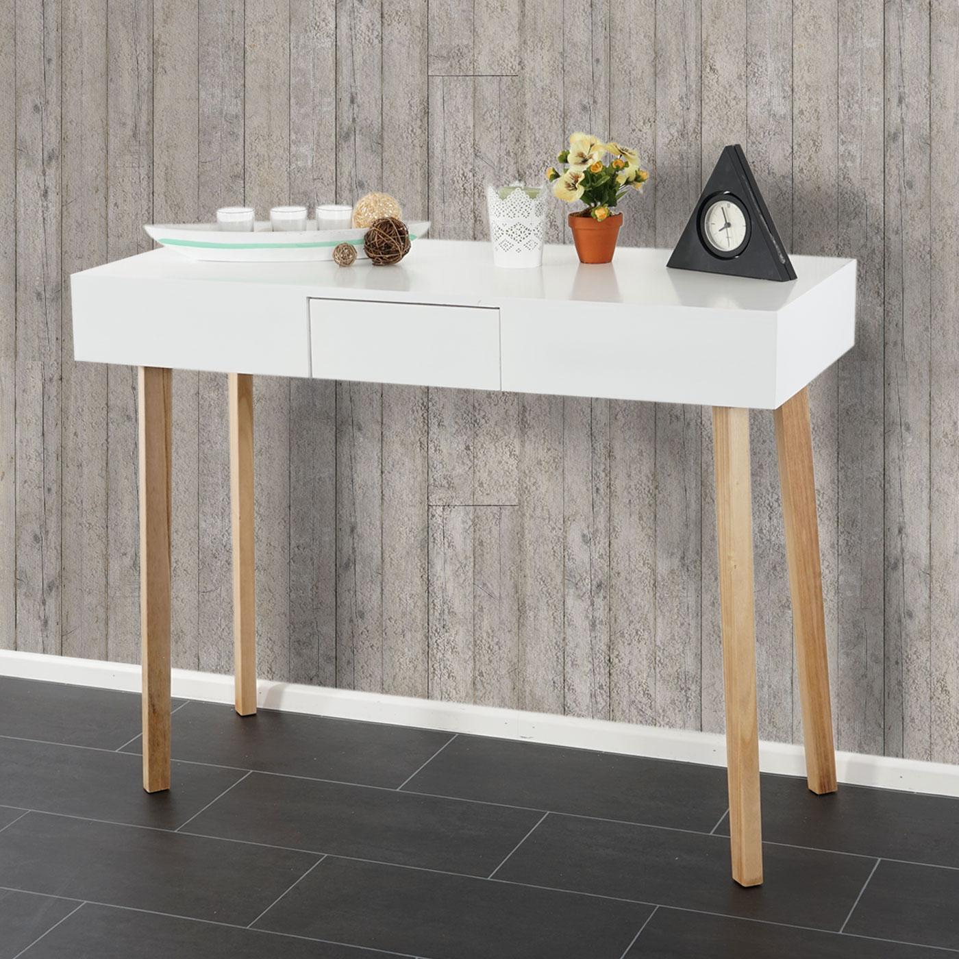 kommode malm t268 beistelltisch schrank retro design 83x105x45cm schublade wei. Black Bedroom Furniture Sets. Home Design Ideas