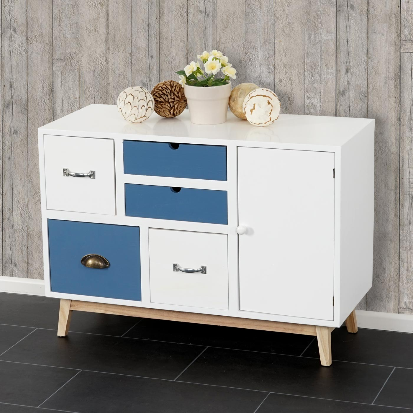 kommode malm t273 sideboard schubladenkommode schrank. Black Bedroom Furniture Sets. Home Design Ideas