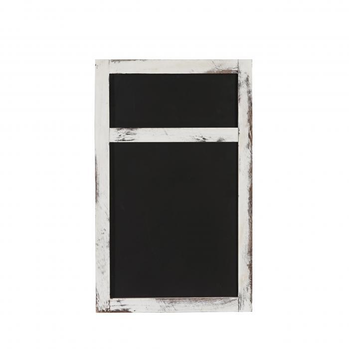 werbetafel wandtafel kreidetafel 55x34x2cm shabby look vintage wei. Black Bedroom Furniture Sets. Home Design Ideas