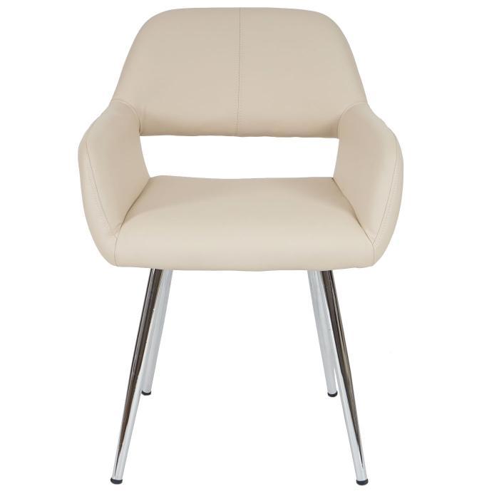esszimmerstuhl hwc a50 stuhl lehnstuhl retro kunstleder. Black Bedroom Furniture Sets. Home Design Ideas