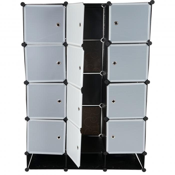 steckregal aus kunststoff boxen. Black Bedroom Furniture Sets. Home Design Ideas