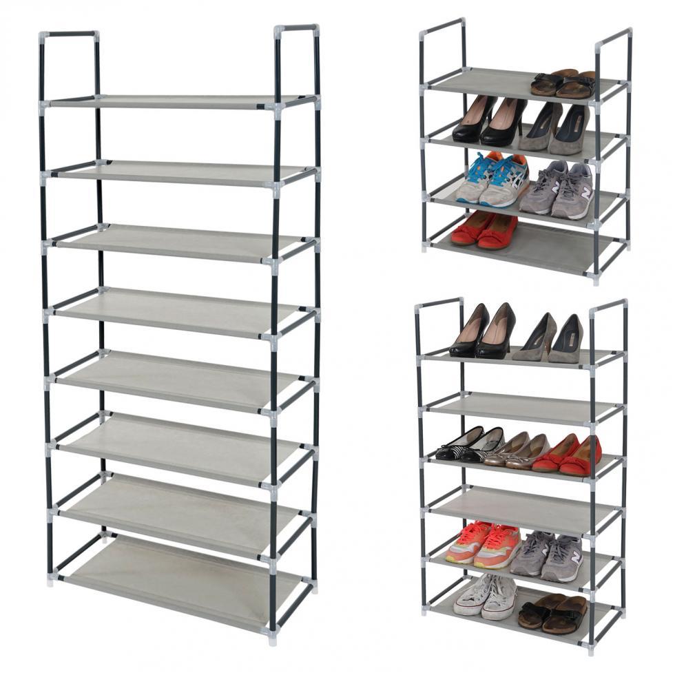 schuhregal br gge schuhablage schuhst nder steckregal. Black Bedroom Furniture Sets. Home Design Ideas