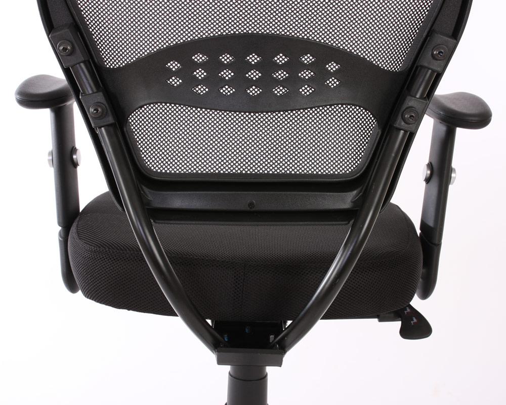 profi b rostuhl seattle chefsessel drehstuhl 150kg belastbar textil schwarz mit armlehnen. Black Bedroom Furniture Sets. Home Design Ideas