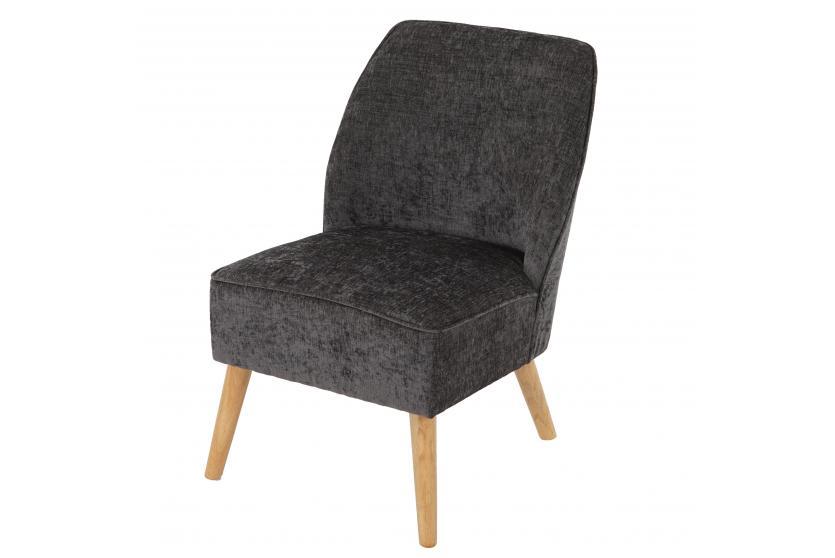 sessel malm t312 loungesessel polstersessel retro 50er jahre design grau textil. Black Bedroom Furniture Sets. Home Design Ideas