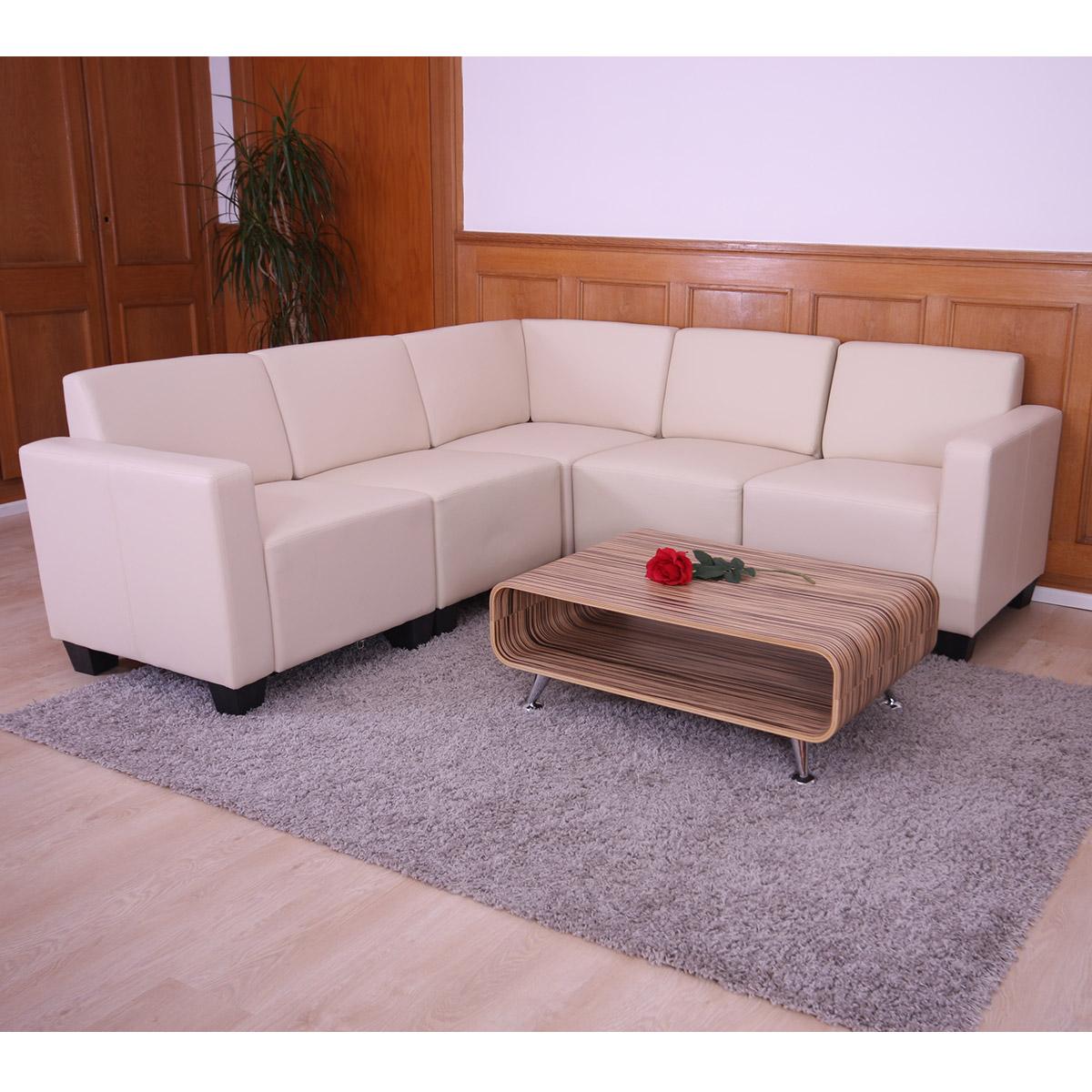 couch garnitur modular sofa system lyon 5 kunstleder. Black Bedroom Furniture Sets. Home Design Ideas