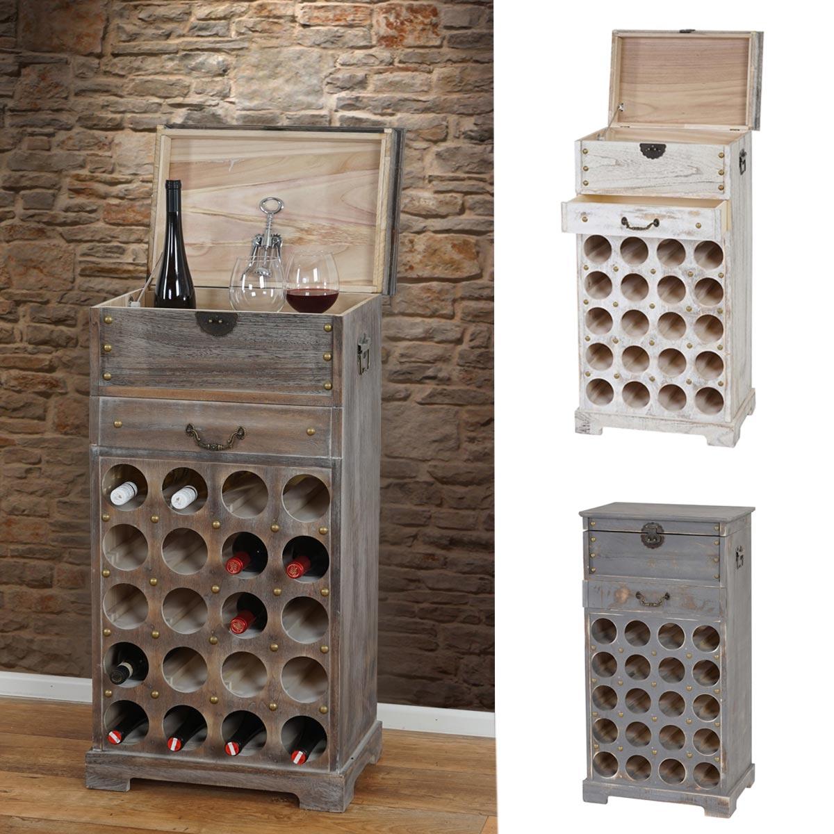 Serie vintage portabottiglie per vini lucan legno paulonia 31x48x94cm ebay - Porta bottiglie ...