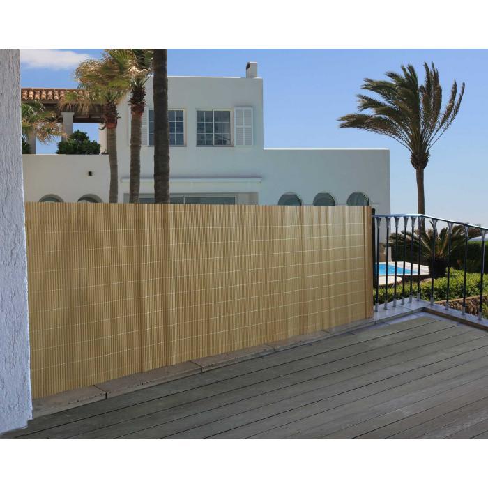 balkonsichtschutz t326 windschutz sichtschutzmatte sichtschutz balkon terrasse natur 300x100 cm. Black Bedroom Furniture Sets. Home Design Ideas