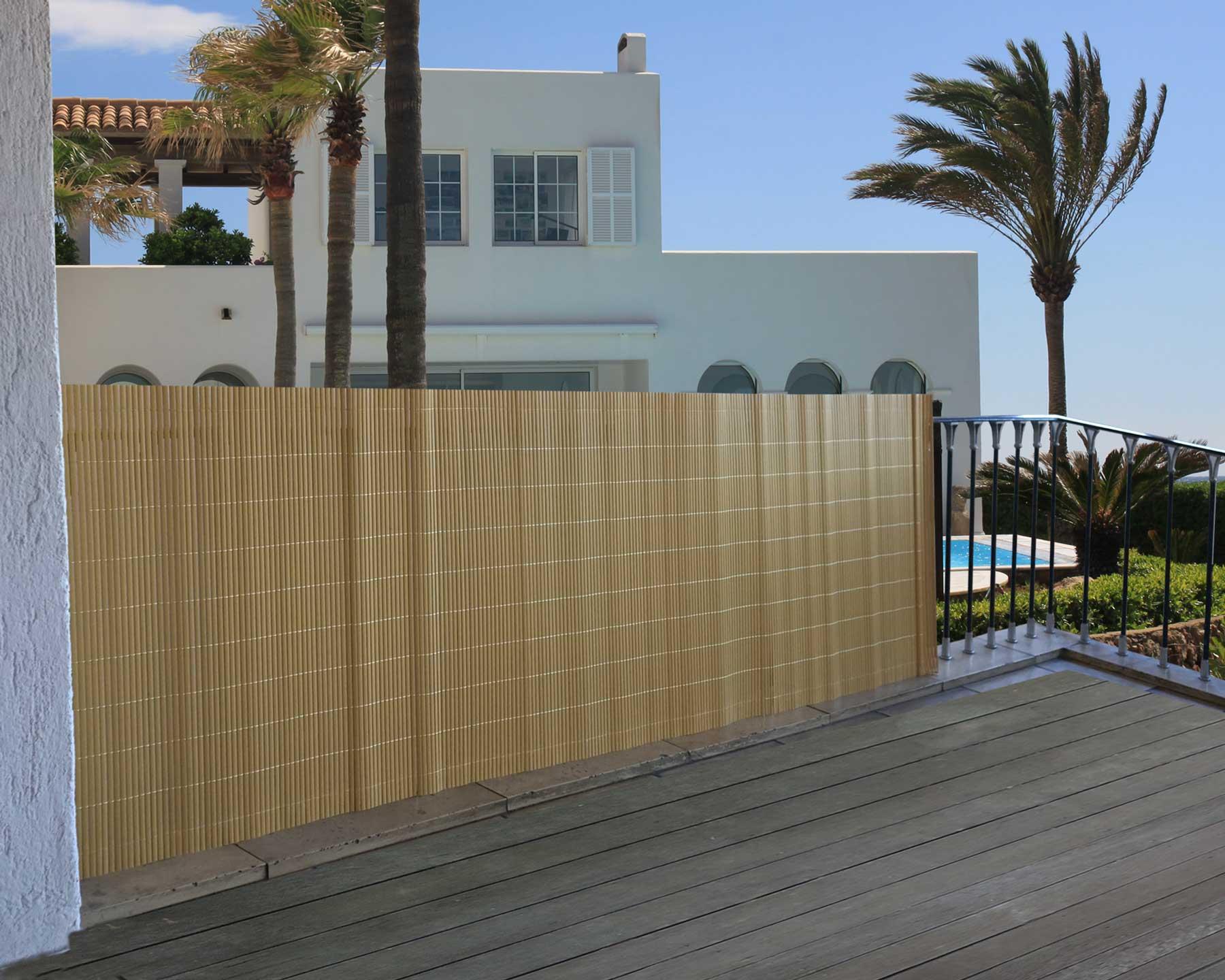 Windschutz Sichtschutz Verkleidung für Balkon Terrasse Zaun