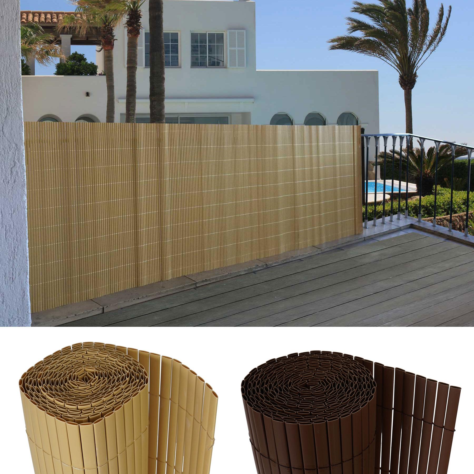 balkonsichtschutz t326 windschutz sichtschutzmatte. Black Bedroom Furniture Sets. Home Design Ideas