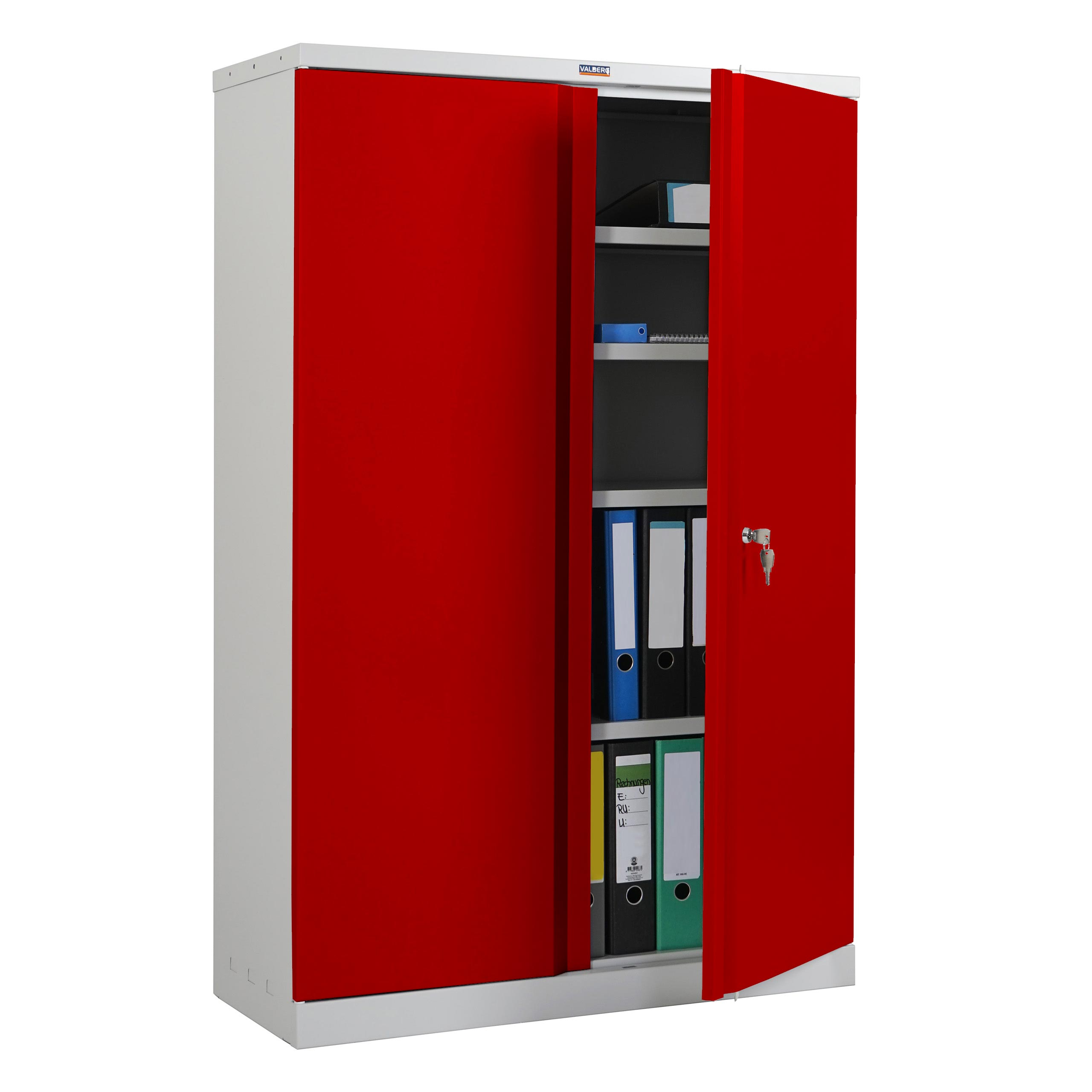 Aktenschrank Valberg T331, Metallschrank Büroschrank, 2 Türen ...
