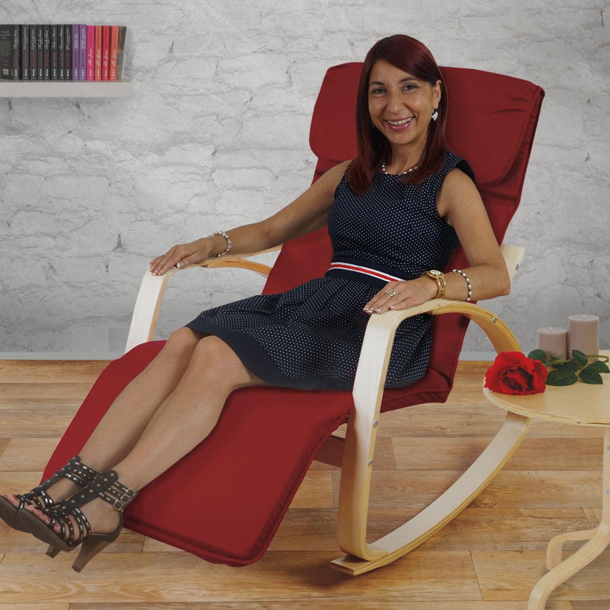 schaukelstuhl malm schwingsessel relaxsessel 95x66x115cm. Black Bedroom Furniture Sets. Home Design Ideas