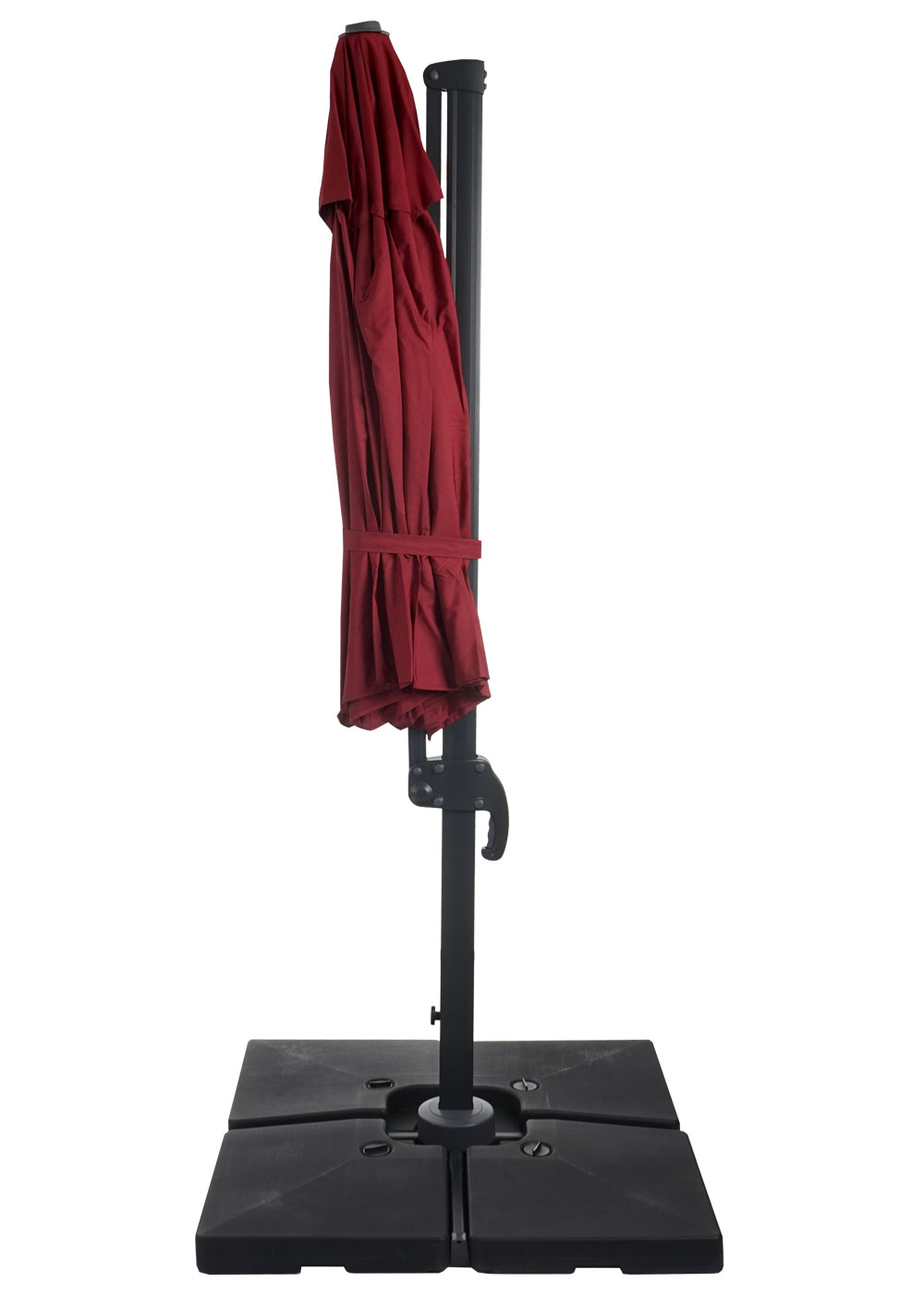 gastronomie luxus ampelschirm sonnenschirm n22 3 5m. Black Bedroom Furniture Sets. Home Design Ideas