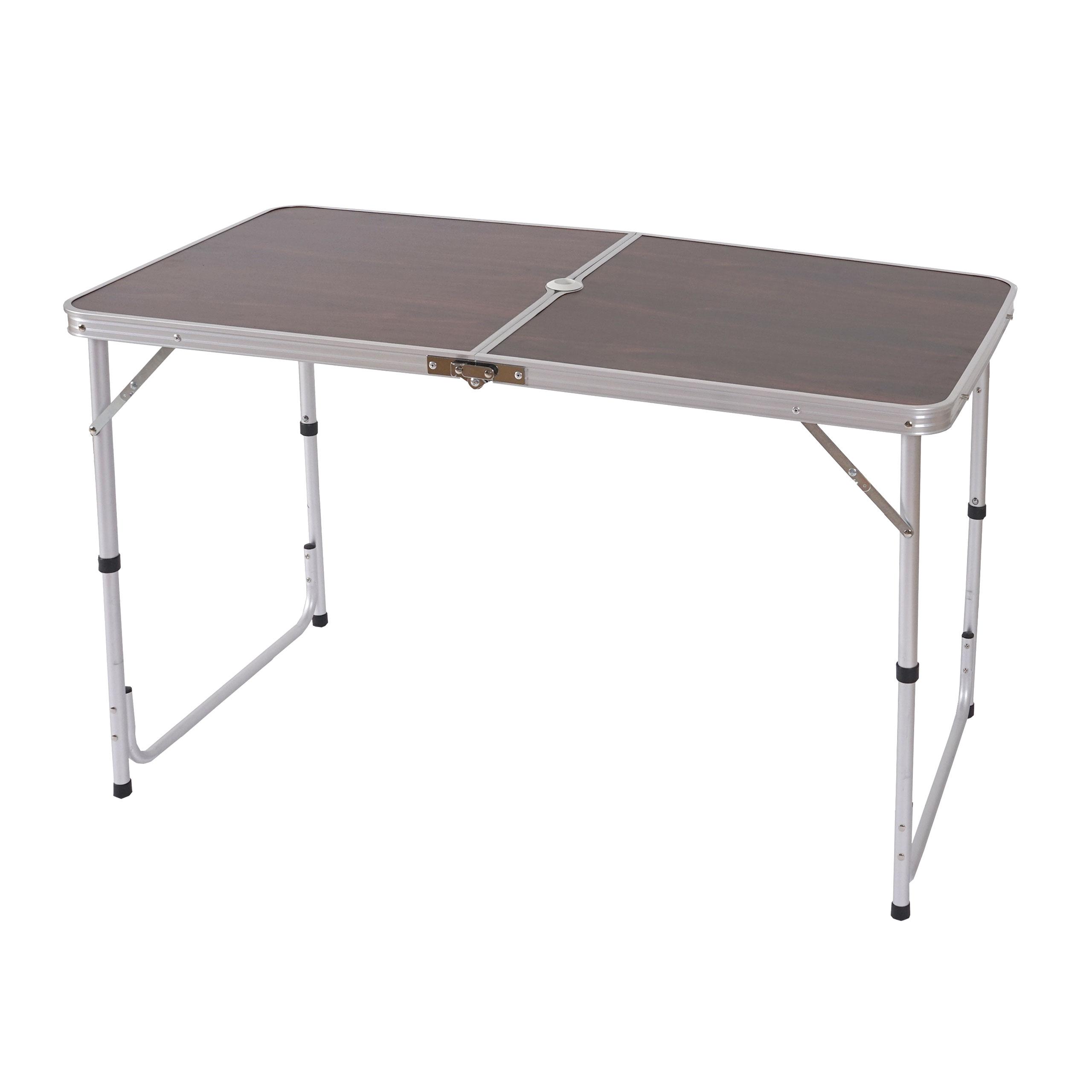 campingtisch t367 klapptisch gartentisch koffertisch 68x120x60cm mit schirmloch. Black Bedroom Furniture Sets. Home Design Ideas
