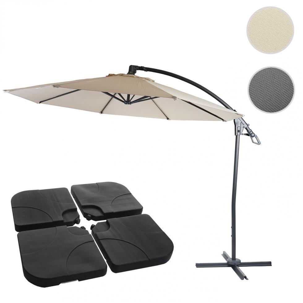 Deluxe Ampelschirm Hwc D14 Sonnenschutz Sonnenschirm O 3m Ebay