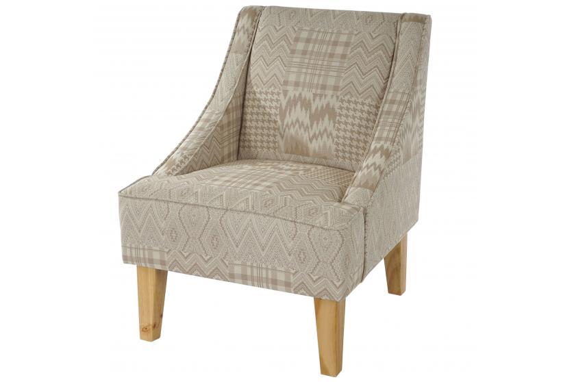 sessel malm t371 loungesessel polstersessel retro 50er jahre design textil beige braun. Black Bedroom Furniture Sets. Home Design Ideas