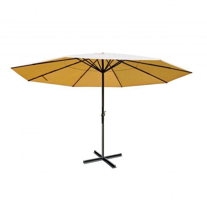 defekte ware sonnenschirm meran gastronomie marktschirm ohne volant 5m polyester alu 28kg. Black Bedroom Furniture Sets. Home Design Ideas