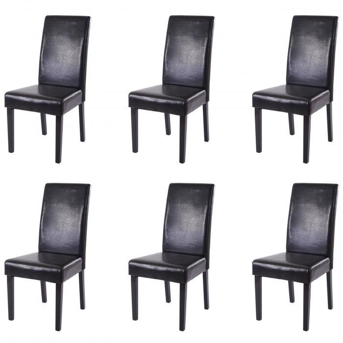 6x esszimmerstuhl t378 xl stuhl lehnstuhl kunstleder. Black Bedroom Furniture Sets. Home Design Ideas