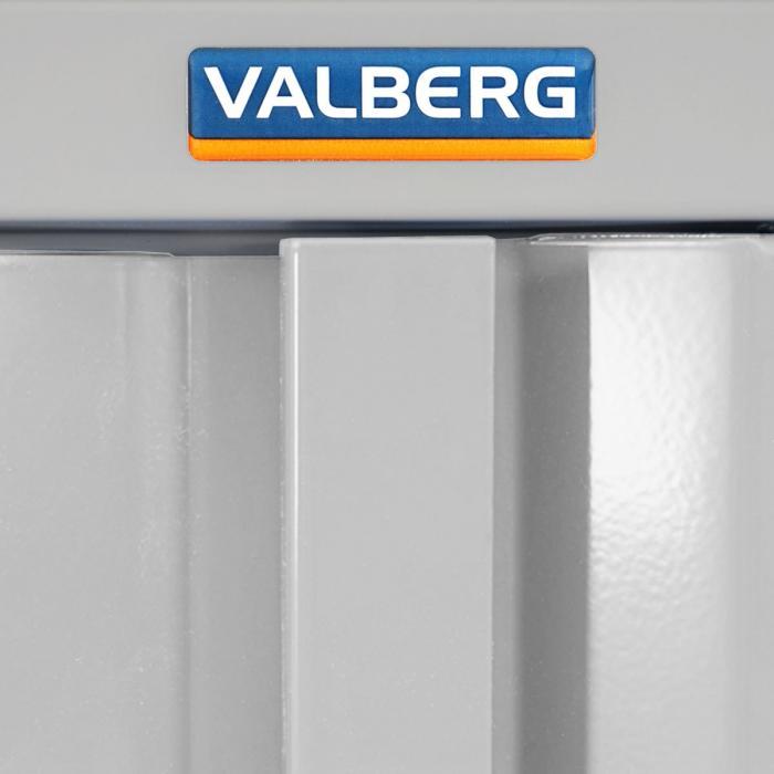 Büroschrank weiß schubladen  Valberg T380, Metallschrank Büroschrank, 4 Türen 2 Schubladen ...