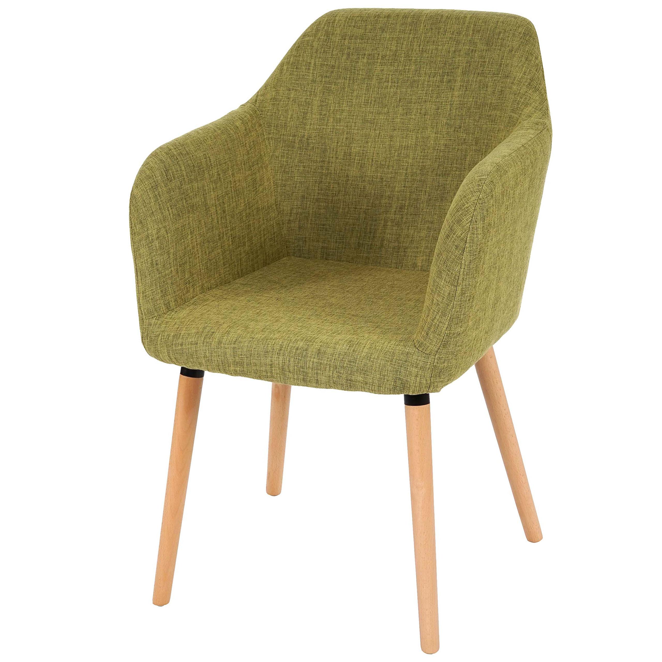 esszimmerstuhl malm t381 stuhl lehnstuhl retro 50er jahre design textil hellgr n. Black Bedroom Furniture Sets. Home Design Ideas