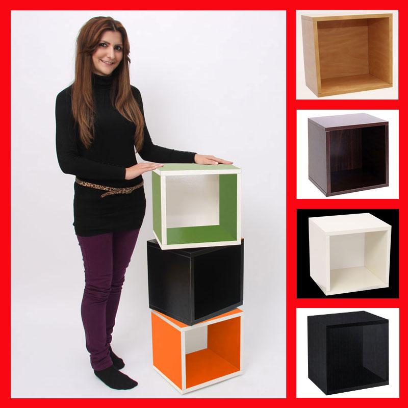 tag re cube modulaire m73 40x34x29 cm blanc avec plaque tournante ebay. Black Bedroom Furniture Sets. Home Design Ideas