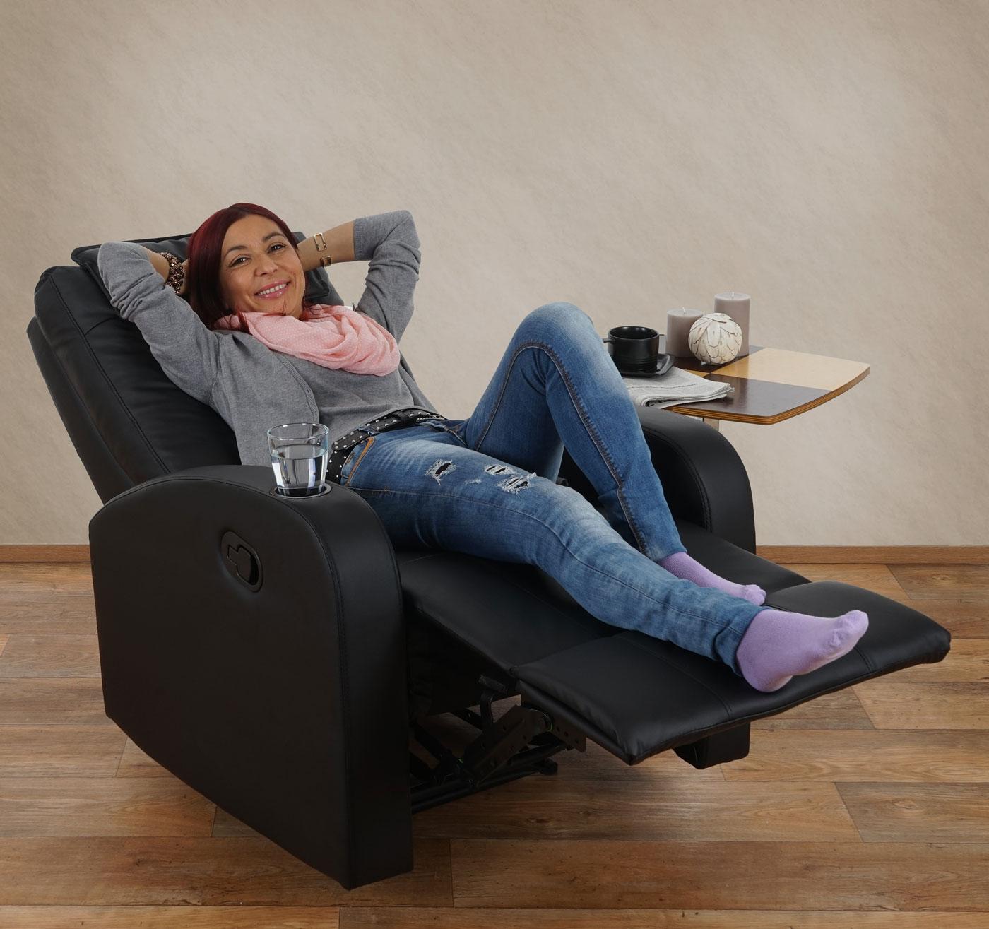 Fernsehsessel durham tv sessel relaxsessel liegesessel for Sessel versenden