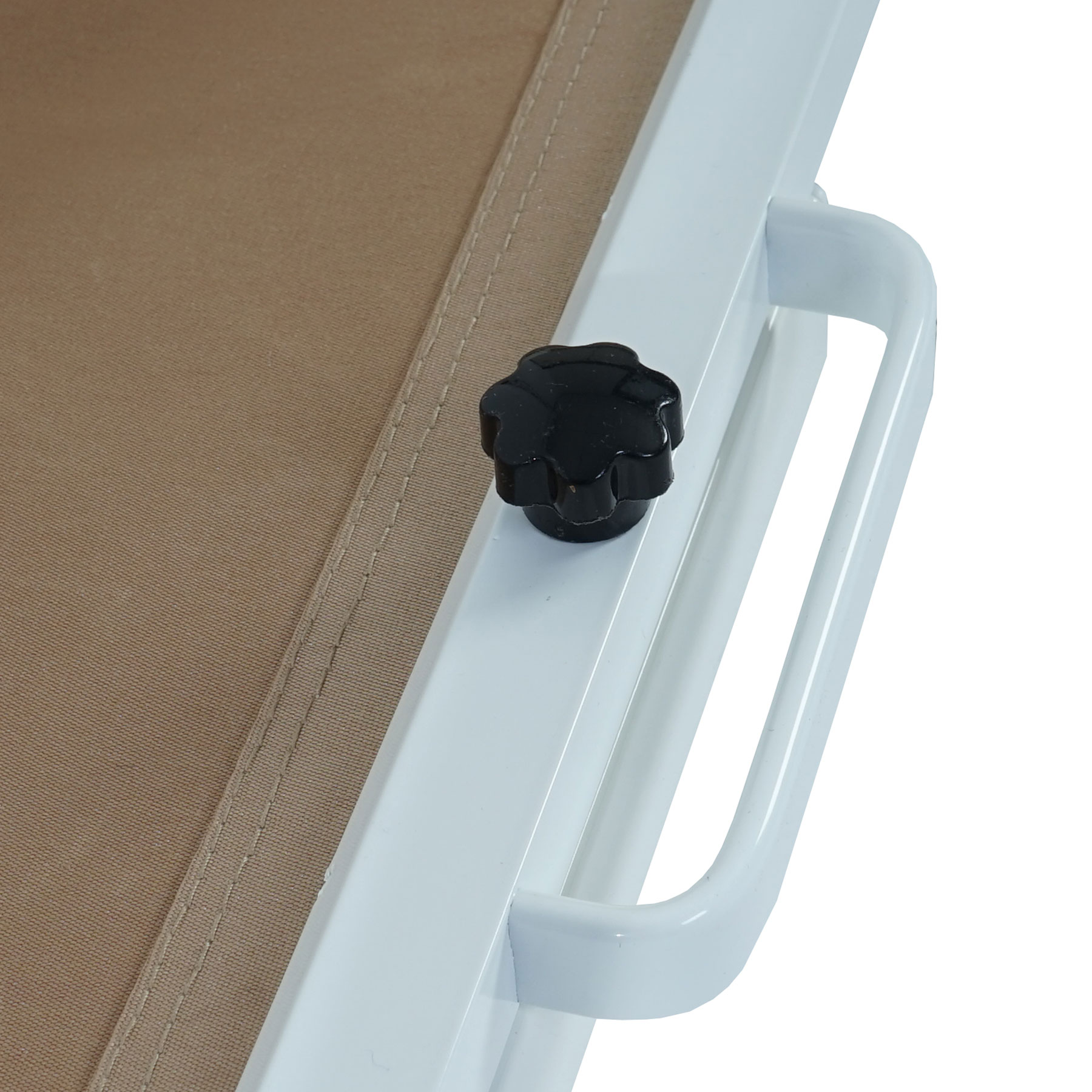 Seitenmarkise T139 Sichtschutz Sonnenschutz Windschutz Alu 1