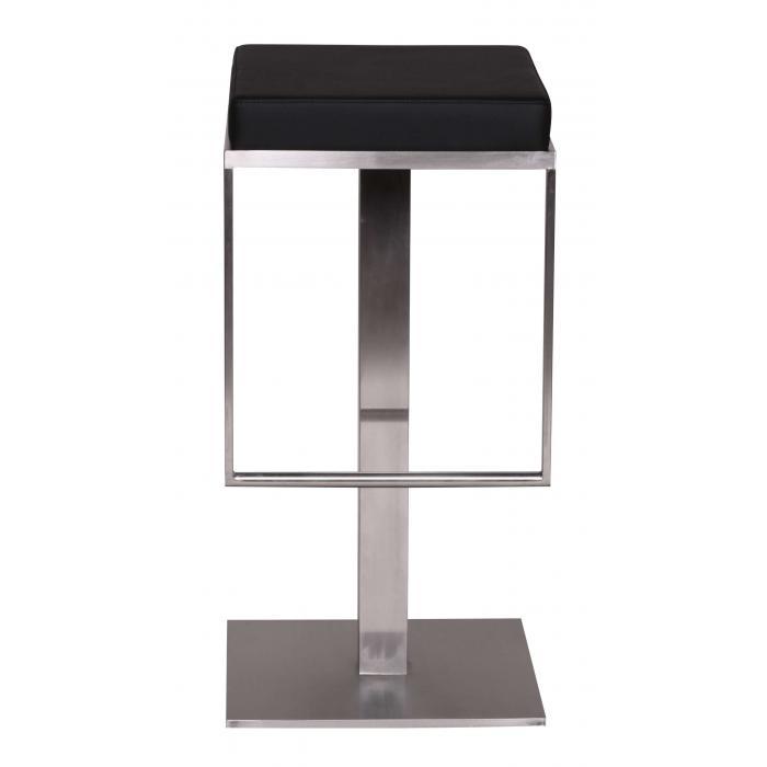 barhocker a036 barstuhl edelstahl geb rstet schwarz. Black Bedroom Furniture Sets. Home Design Ideas