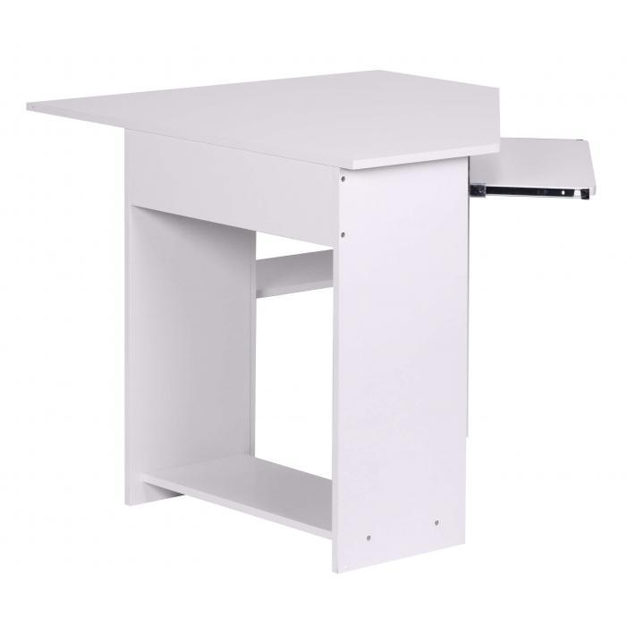 Eck computertisch  Computertisch A077, Schreibtisch Bürotisch, 103x97x73cm