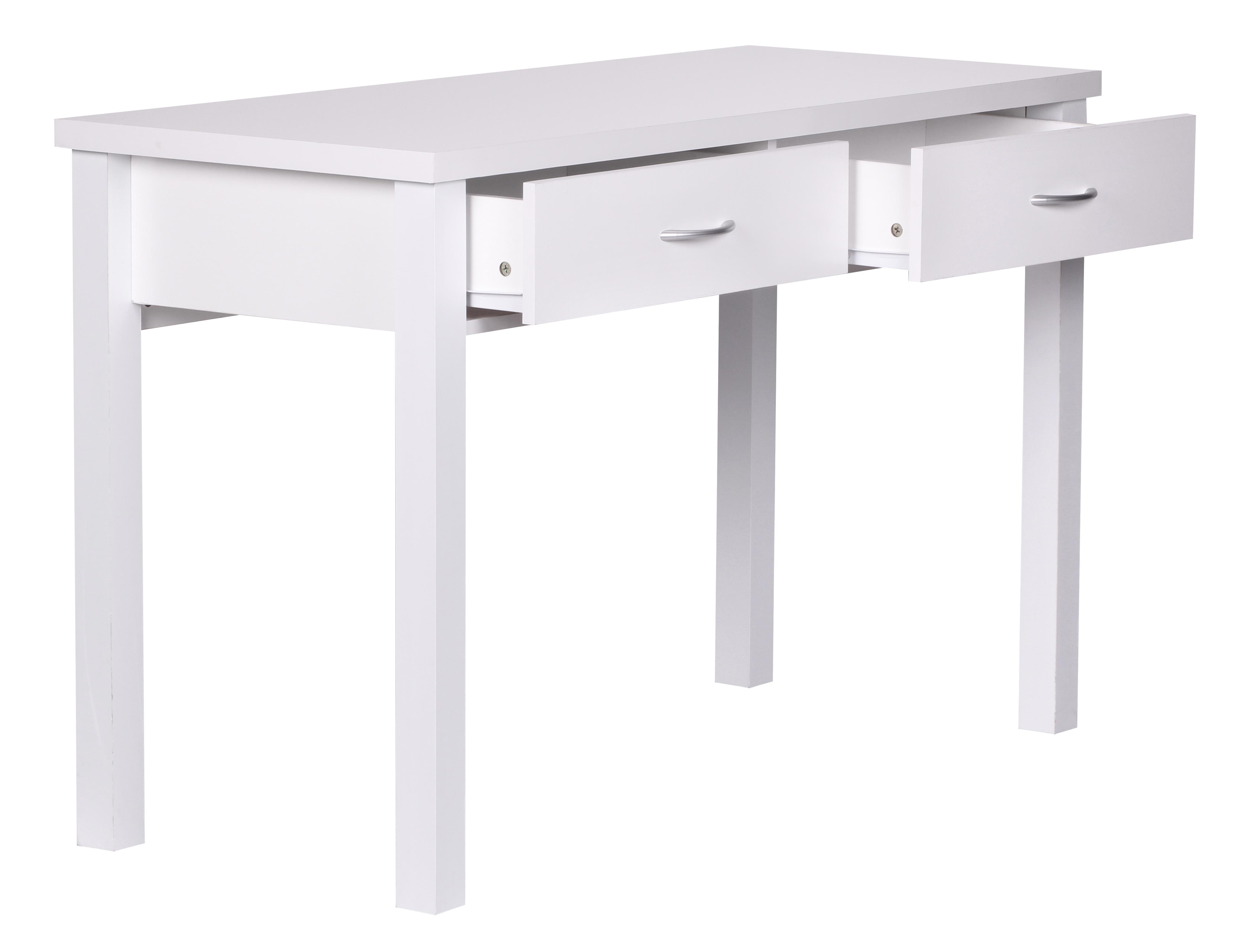 Schreibtisch a094 b rotisch 2 schubladen 120x77x50cm for Schreibtisch 2 50 meter