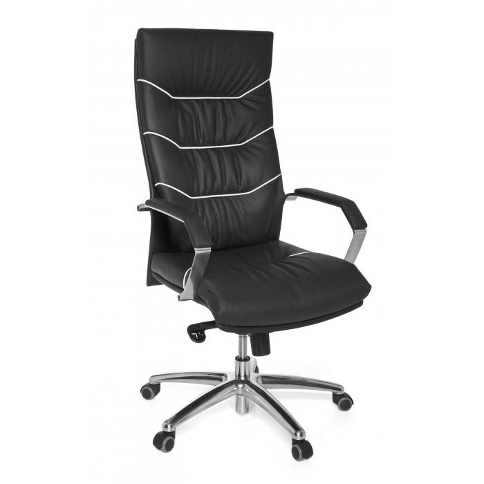 b rostuhl a038 chefsessel drehstuhl leder mit 5 punkt multiblock mechanik. Black Bedroom Furniture Sets. Home Design Ideas