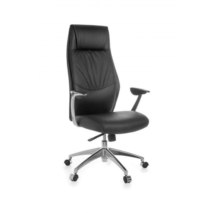 b rostuhl a037 chefsessel drehstuhl leder mit 5 punkt synchronmechanik. Black Bedroom Furniture Sets. Home Design Ideas