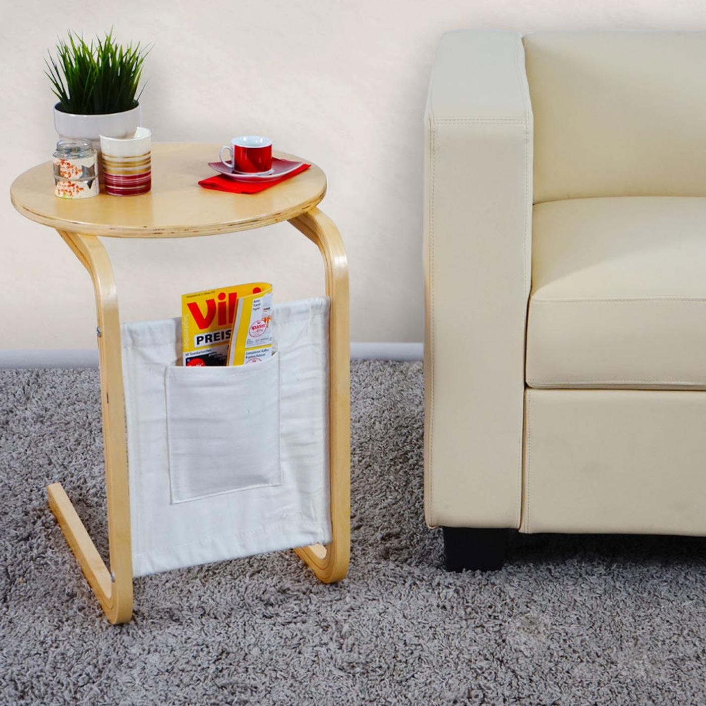 Beistelltisch t410 holztisch wohnzimmertisch 45x58cm for Wohnzimmertisch beistelltisch