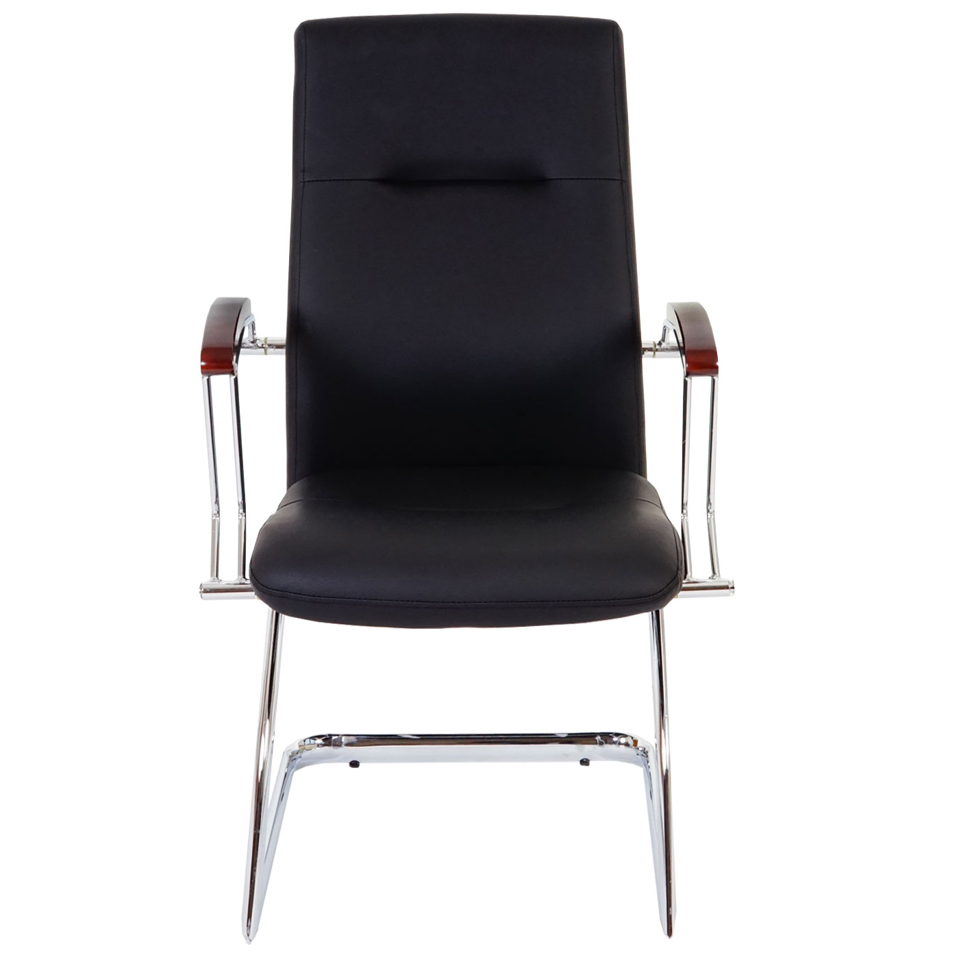 Set 2x sedie ufficio a slitta cesena ecopelle 70x57x95cm for Sedie ufficio genova