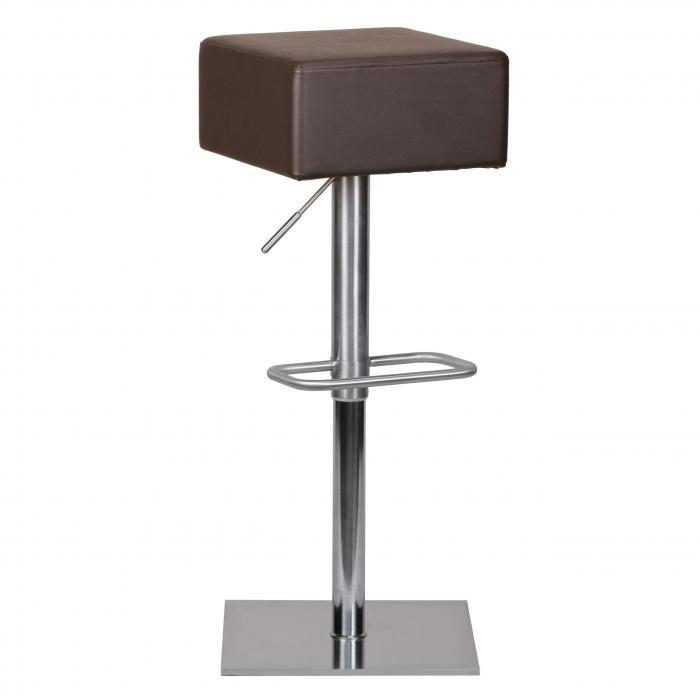 barhocker a040 barstuhl edelstahl geb rstet braun. Black Bedroom Furniture Sets. Home Design Ideas