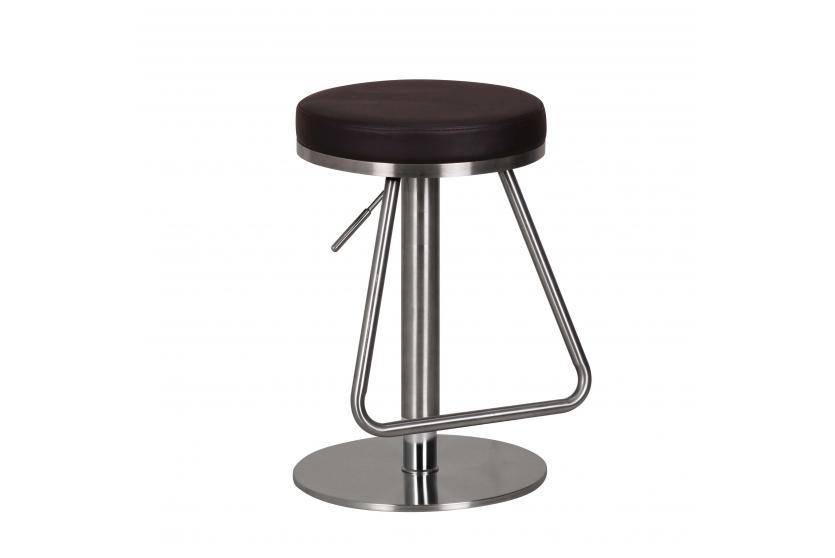 barhocker a043 barstuhl edelstahl geb rstet braun. Black Bedroom Furniture Sets. Home Design Ideas