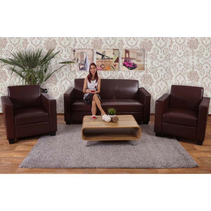 Couchgarnituren Leder sofa busto loungesofa leder