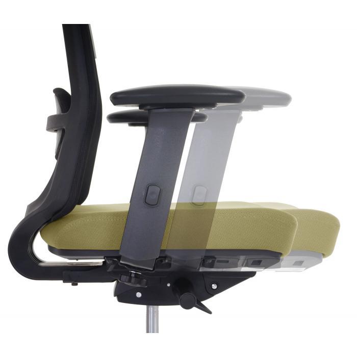 Schreibtischstuhl ergonomisch  Bürostuhl Belfast, Schreibtischstuhl Drehstuhl, ergonomisch ~ olive