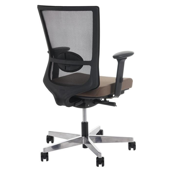 Drehstuhl ergonomisch  Bürostuhl Belfast, Schreibtischstuhl Drehstuhl, ergonomisch ~ taupe